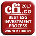 Winner of the CFI award 2017 - Best ESG Investment Process
