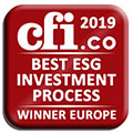 Winner of the CFI award 2019 - Best ESG Investment Process